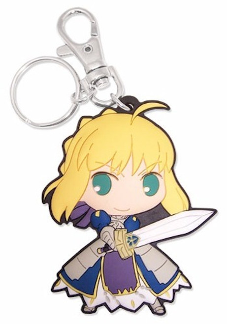 Fate/Stay Night PVC Keychain - SD Saber