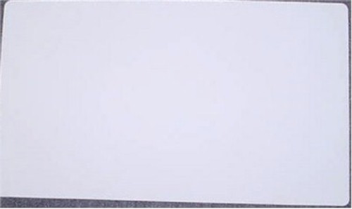 Trading Cards Solid Color Play Mat - White