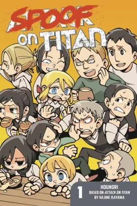 Attack on Titan: Spoof on Titan Graphic Novel 01
