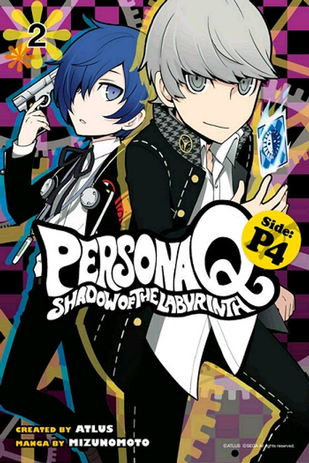 Persona Q: Shadow of the Labyrinth Side: P4 Vol. 02