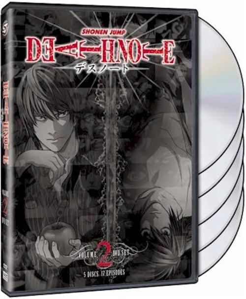 Death Note DVD Box Set 2