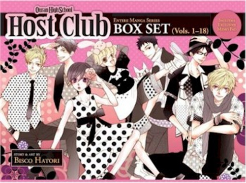 Ouran High School Host Club Graphic Novel Box Set (1-18)