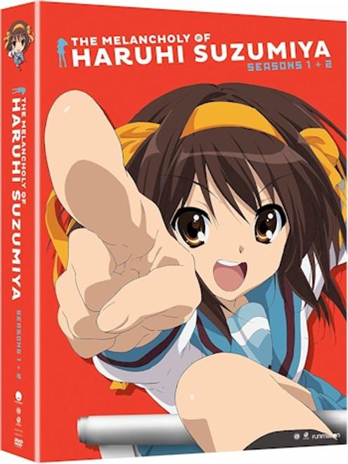 Melancholy of Haruhi Suzumiya Seasons One & Two DVD