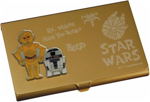 Star Wars Business Card Holder - R2D2 & C-3PO