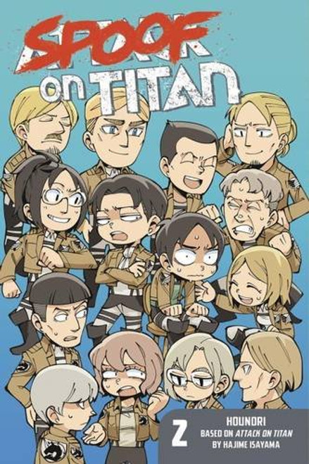 Attack on Titan: Spoof on Titan Graphic Novel 02