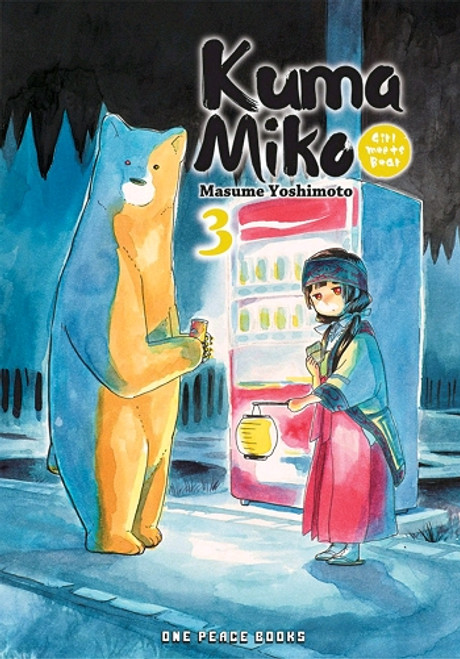 Kuma Miko Girl Meets Bear Graphic Novel 03