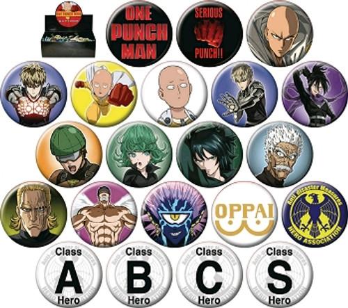 One-Punch Man Button Pin (Random)