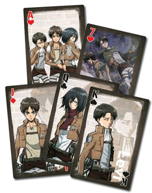 Attack on Titan Playing Cards #3