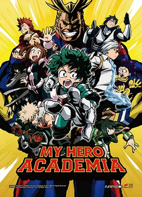 My Hero Academia Wallscroll - Key Art