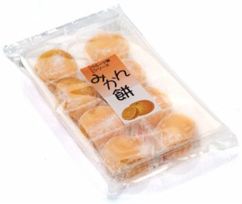 Rice Cake (Mochi) - Orange