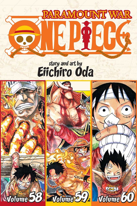 One Piece Graphic Novel Omnibus 20