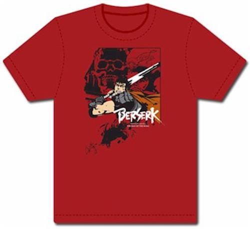 "Berserk T-Shirt - Guts Slash ""Red)"