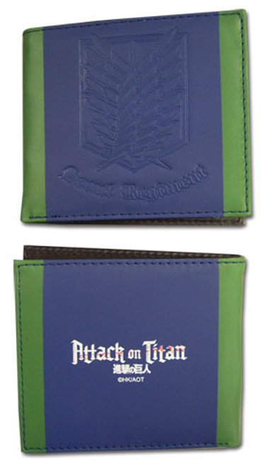 Attack on Titan Wallet - Scout Regiment (Bi-fold)