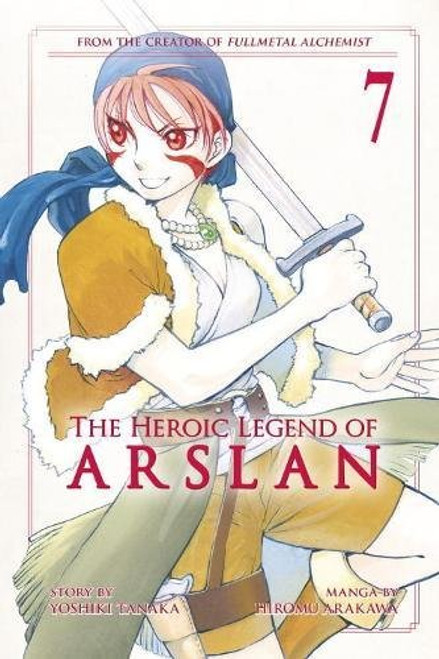 Heroic Legend of Arslan Graphic Novel 07