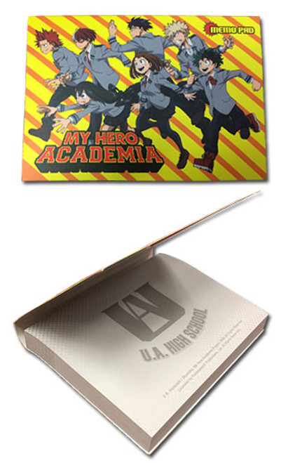 My Hero Academia Sticky Memo Pad - Group 1