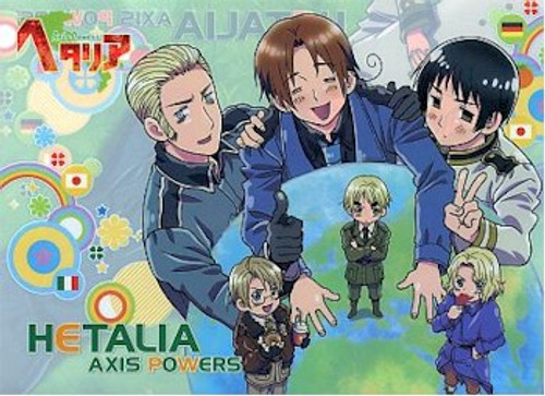 Hetalia Axis Powers File Folder - Group