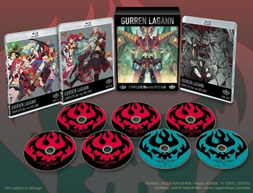 Gurren Lagann Complete Blu-ray Box (TV Series & 2 Movies)