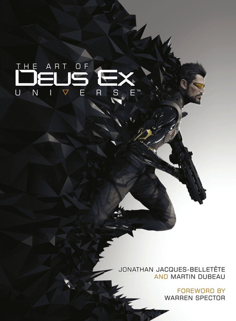 Art of Deus Ex Universe Art Book (Hardcover)