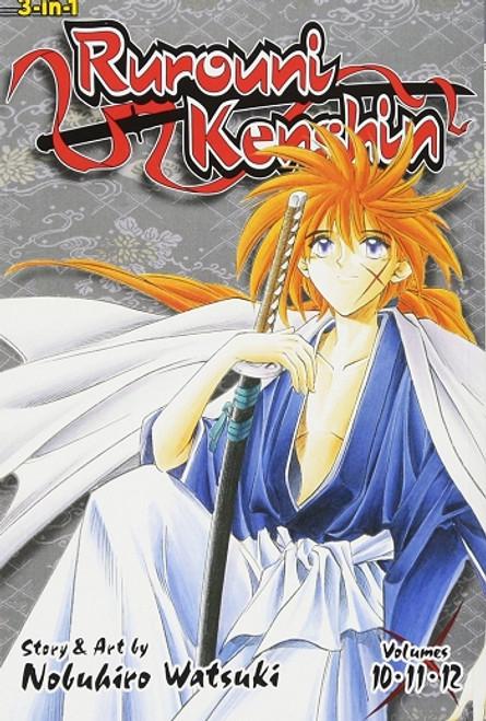 Rurouni Kenshin Omnibus Manga 04
