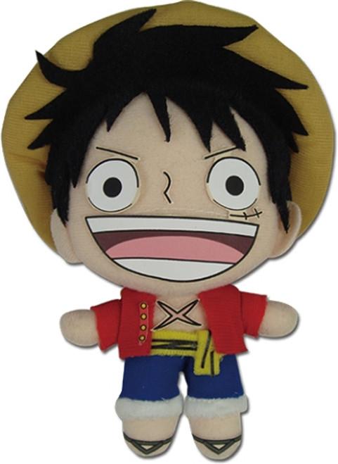 "One Piece Plush Doll - Luffy 5"" (New World)"
