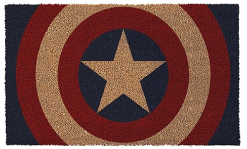 Marvel Heroes Door Mat - Captain American Shield