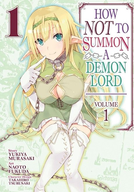 How Not to Summon a Demon Lord Graphic Novel 01