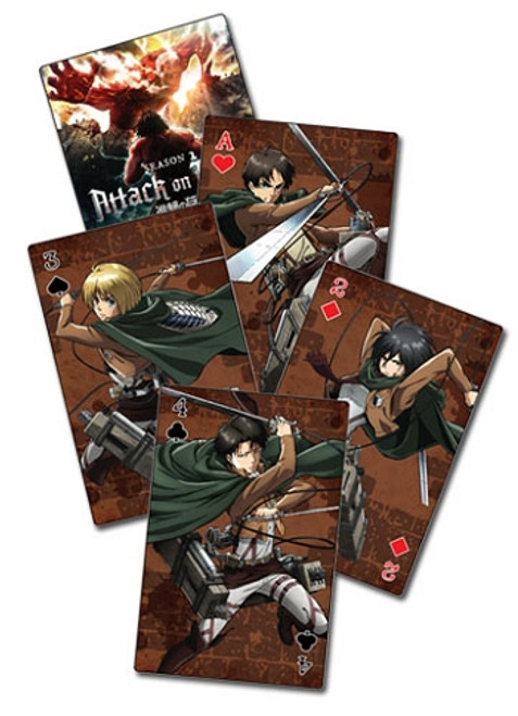 Attack on Titan Playing Cards - Group (Season 2)