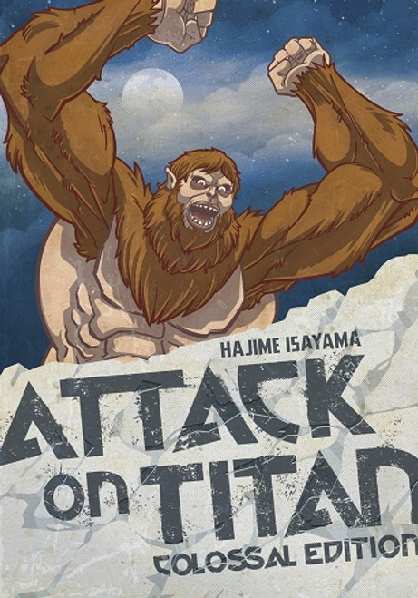Attack on Titan Colossal Edition Vol. 4