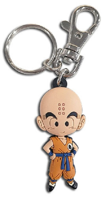 Dragon Ball Super PVC Keychain - SD Krillin