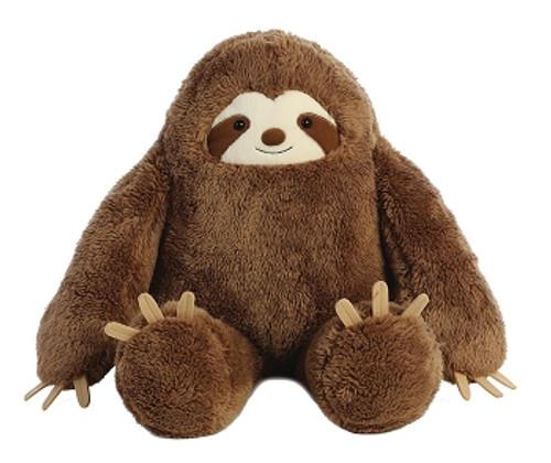 "Aurora Flopsie Plush - Sloth 20"""