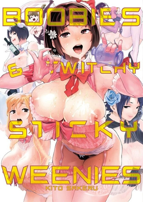 Boobies And Twitchy Sticky Weenies Graphic Novel