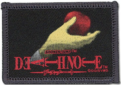 Death Note Patch Apple in Hand