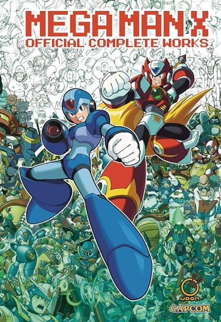 Mega Man X Official Complete Works Artbook (HC)