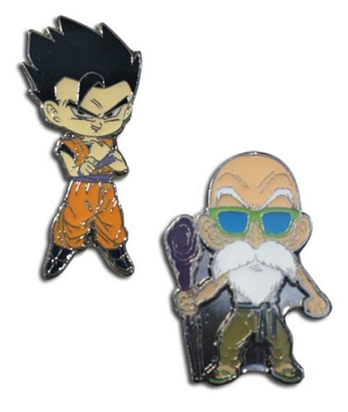 Dragon Ball Super Pin Set - Master Roshi & Gohan