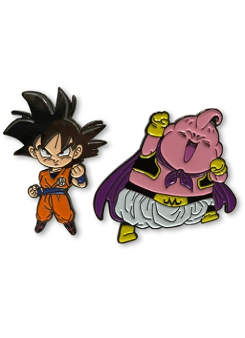 Dragon Ball Super Pin Set - Goku & Majin Buu