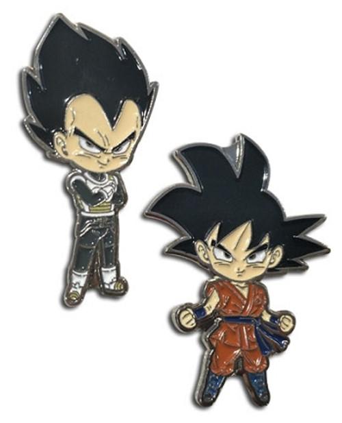 Dragon Ball Super Pin Set - Goku & Vegeta