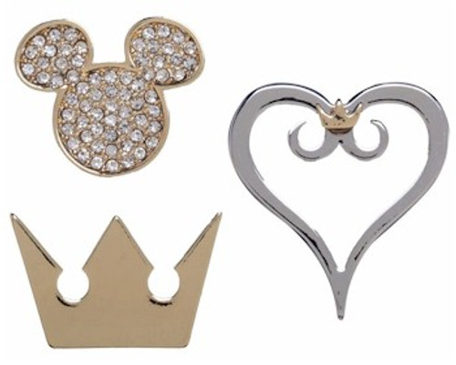 Kingdom Hearts Lapel Pin Set