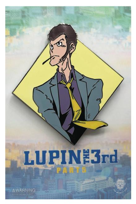 Lupin the Third Enamel Pin - Diamond Lupin