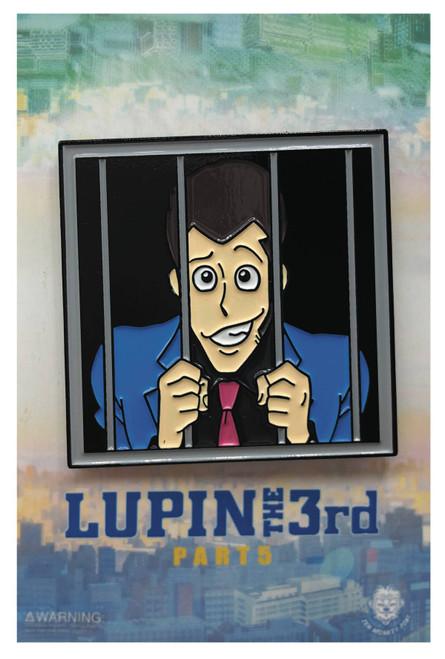 Lupin the Third Enamel Pin - Lupin in Jail
