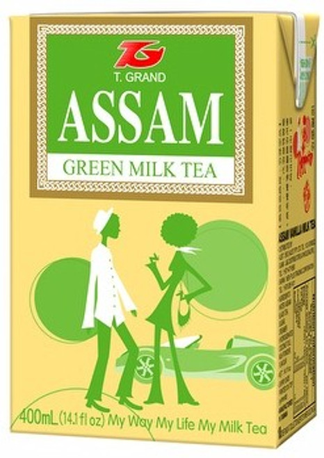 Milk Tea (400ml) - Green Tea
