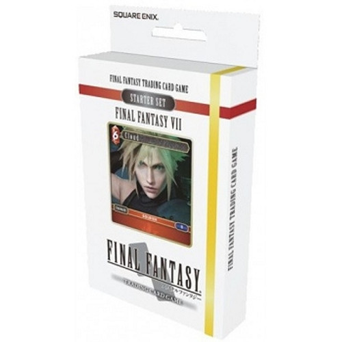 Final Fantasy TCG Starter Deck 2019 - FFVII Fire and Earth