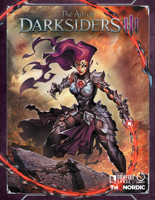 The Art of Darksiders III Artbook (HC)