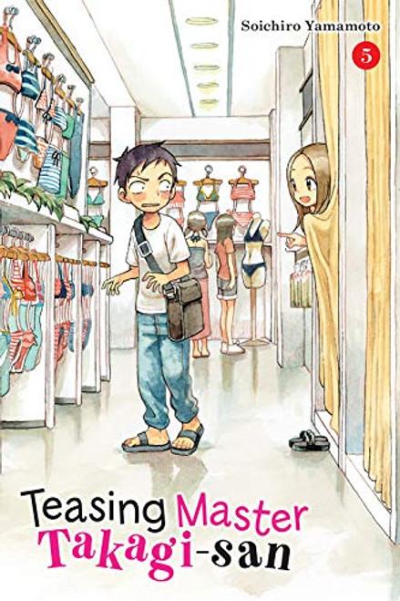 Teasing Master Takagi-san Graphic Novel 05