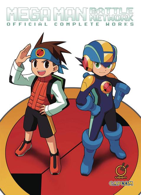 Mega Man Battle Network: Official Complete Works Artbook (HC