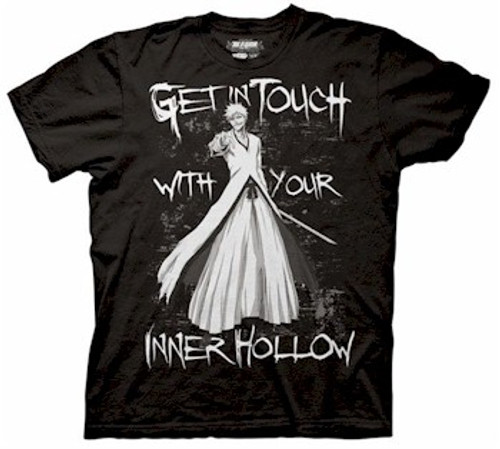 Bleach T-Shirt Inner Hollow (Black)