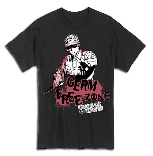 Cells at Work! T-Shirt - Germ Free Zone