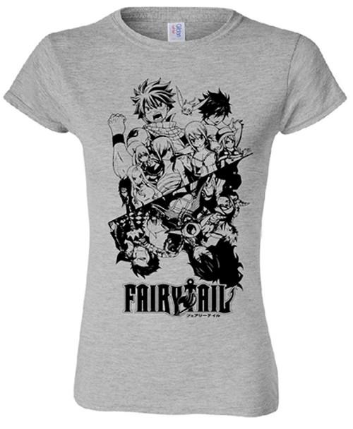Fairy Tail  Babydoll T-Shirt - Season 7 Group