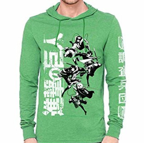 Attack on Titan Hoodie - Scout Regiment Vertical Group