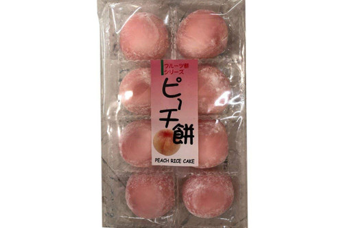 Rice Cake (Mochi) - Peach
