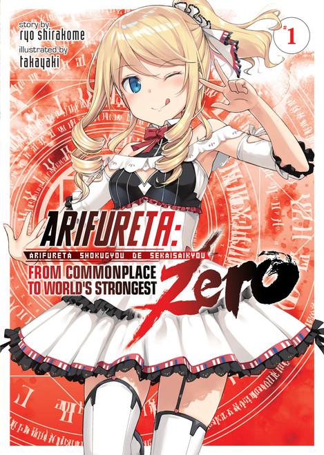 Arifureta: From Commonplace to World's Strongest Zero Nvl 01